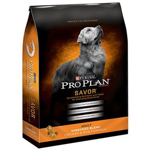 Purina Pro Plan Savor Adult Shredded Blend Chicken & Rice Formula Dog Food 35 lb. Bag Reviews