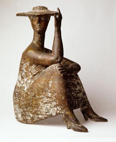 """Harry Kivijärvi (Finnish sculptor, 1931-2010) - """"Aurinkohattu"""" (Sun Hat), 1959"""