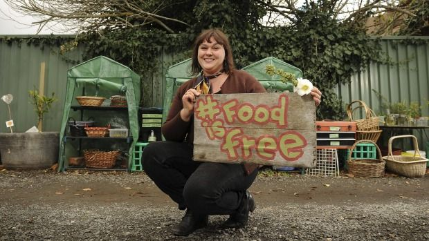 Food Is Free gives food for thought on green anarchy - awesome people doing awesome things - For Redan resident Lou Ridsdale, green anarchy is all about sharing.