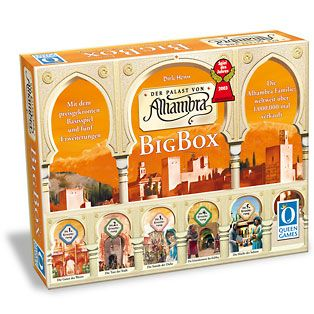 Gra Alhambra z pięcioma dodatkami. Najlepsi z najlepszych budowniczych w całej Europie i Arabia chcą udowodnić, kto jest najlepszym z nich. Jest początek 13 wieku i decydują, że najlepszym zostanie ten, który wybuduje najwspanialszą Alhambrę! Wynajmuj odpowiednich pracowników, zarządzaj finansami, zawsze miej dostęp do odpowiedniej gotówki.      W grze Alhambra gracze nabywają budynki, które potem...