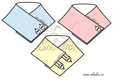 šálošátek, šálo-šátek, nákrčník, ...