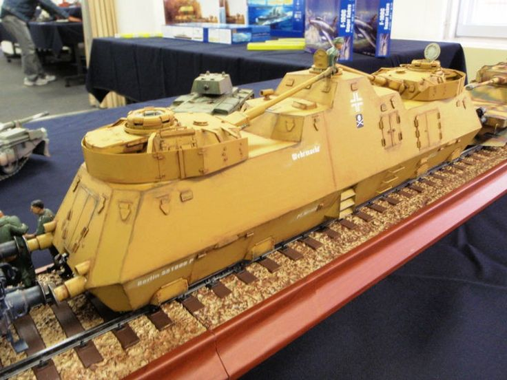 German Army Heavy Armored Train Nr 51 Plastic Model