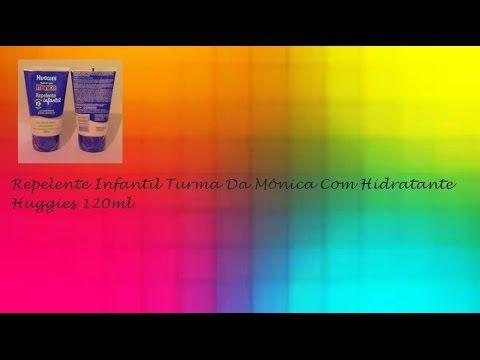 Repelente Infantil Turma Da Mônica Com Hidratante Huggies 120ml