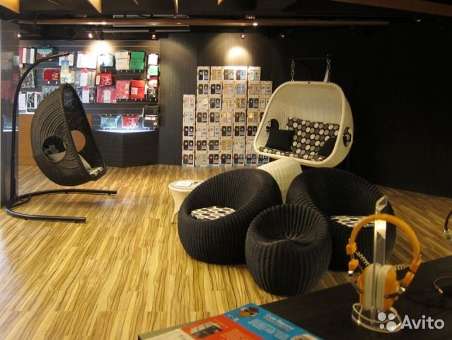 Дизайнерские подвесные кресла к потолку — фотография №8