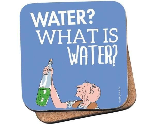 Coaster: Roald Dahl, The BFG (Water)