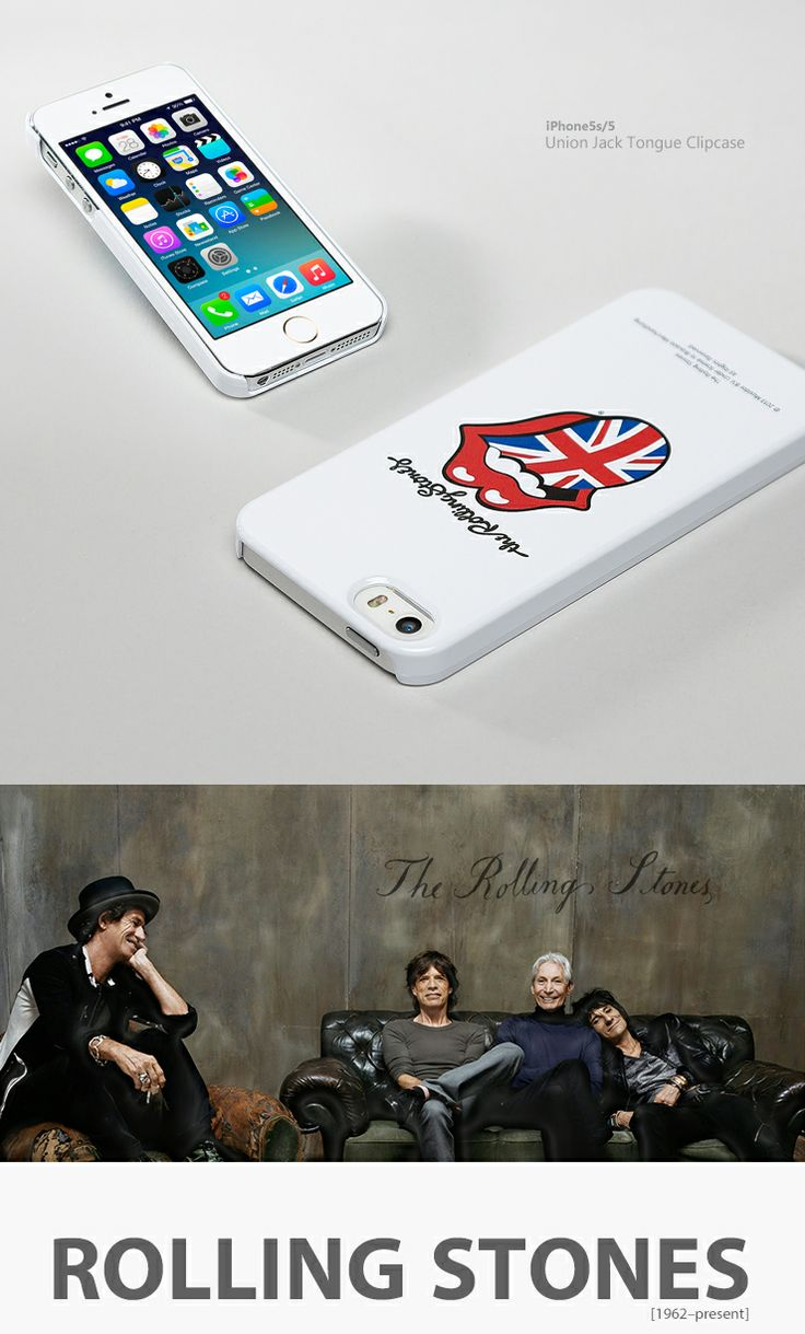 Symbol of England Union Jack. Symbol of Rock!! Rolling Stones. ...........................for Iphone5S/5