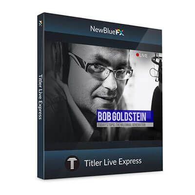 NewBlueFX Titler Live Express v2.0