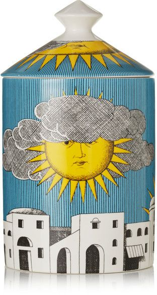 Fornasetti - Sol Di Capri Scented Candle, 300g - Blue | #Chic Only #Glamour Always