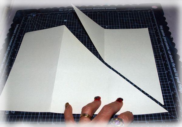 Magnolia Lane Tri Fold Card by Sue Smyth