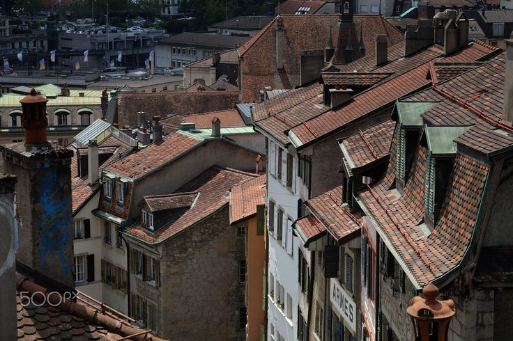 Roofs by Alain Schmalz on 500px
