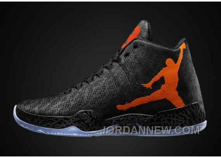 Genuine Air Jordan XX9 Black Team Orange-Dark Grey 695515 005 Online S5dzcD