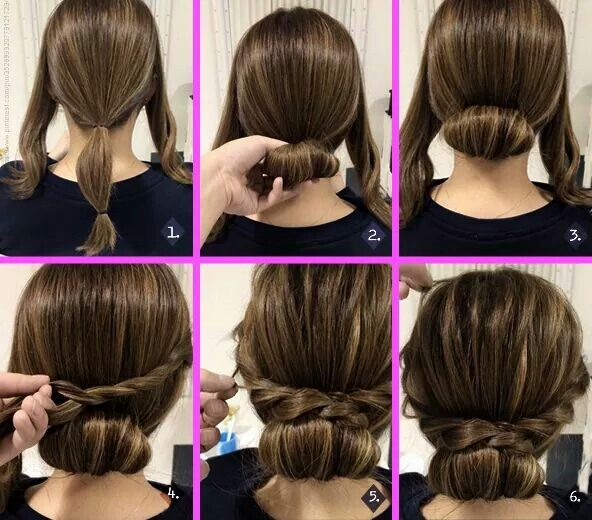 Quick and easy hairstyle!