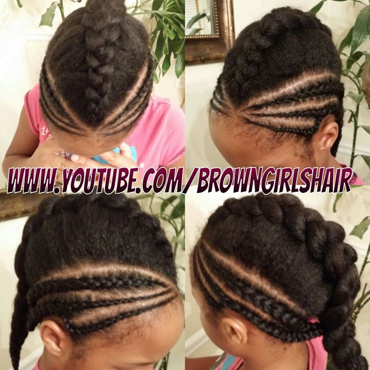 Innovative Cute Braided Hairstyles For Little Black Girls