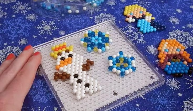 aqua+beads+frozen | Aquabeads Disney Frozen Elsa Anna Olaf Set Japan アクアビーズ ...