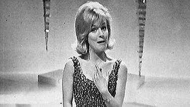 Heidi Brühl beim Grand Prix d'Eurovision 1963