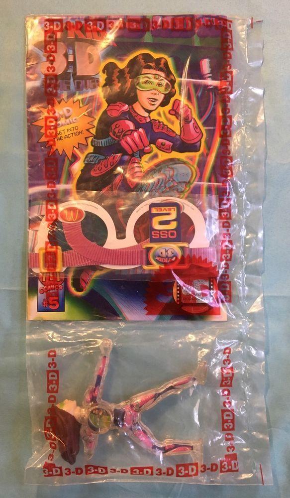 McDonald's 2003 Miramax Spy Kids 3-D Game Over Movie Carmen Action Figure Toy #5  | eBay