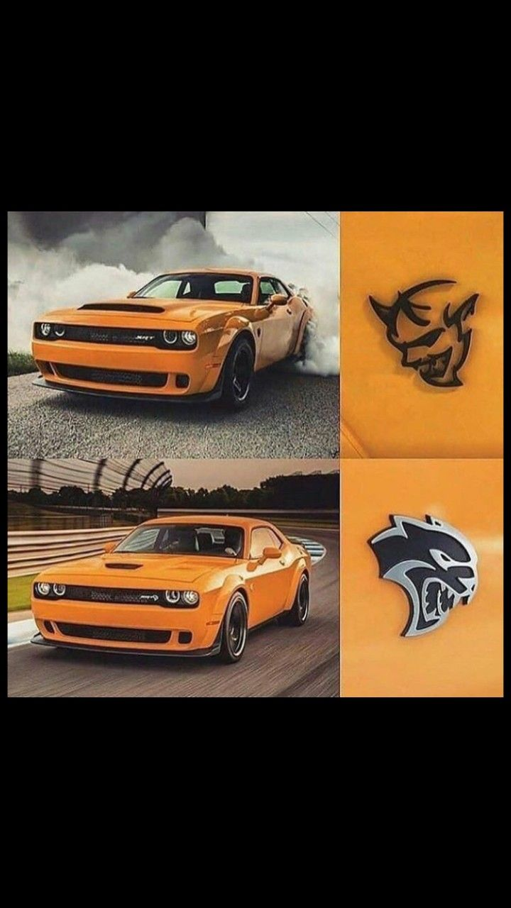 Rear POSTER 24 X 36 INCH SWEET! 2018 Dodge Challenger SRT Demon