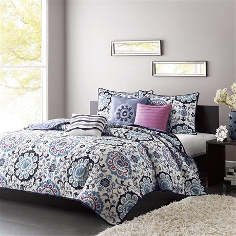 quilts store in bed piece quilt bath park set madison product quinn comforter grey beyond