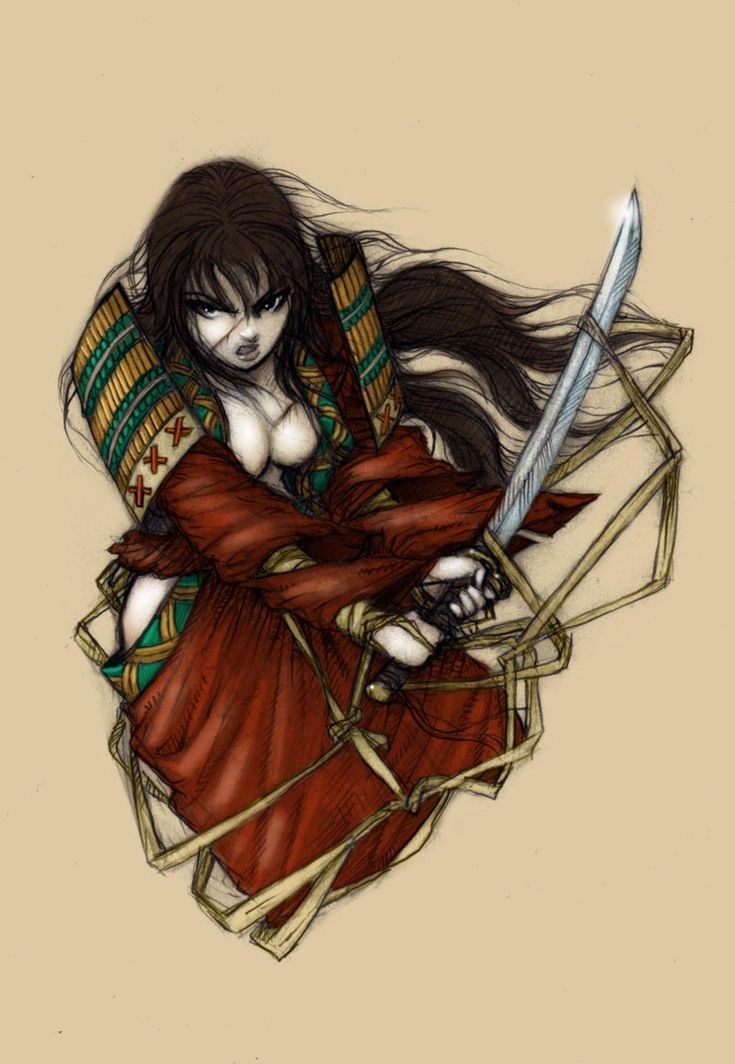 74 best tattoo ideas images on pinterest for Female samurai tattoo