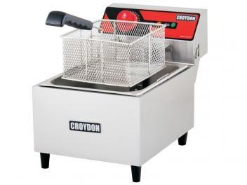 Fritadeira 4,5 Litros Inox Cesto Removível - Croydon Quente Elétrica FH1B?2