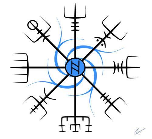 Iceland  Viking Compass