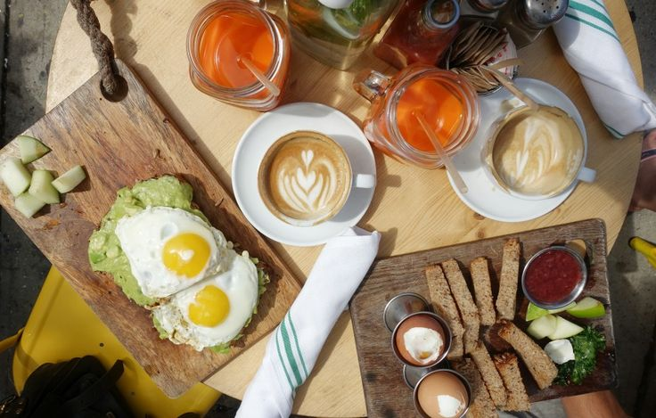 The Butchers Daughter brunch, avocado toast, eggs, juice, new york