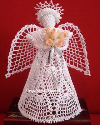 Anjos De Croche Angel Crochet