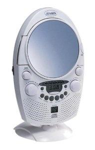 Jensen JCR-550 Shower CD Player/Clock Radio with Fog-Free Mirror by Jensen  http://www.60inchledtv.info/tvs-audio-video/radios/shower-radios/jensen-jcr550-shower-cd-playerclock-radio-with-fogfree-mirror-com/