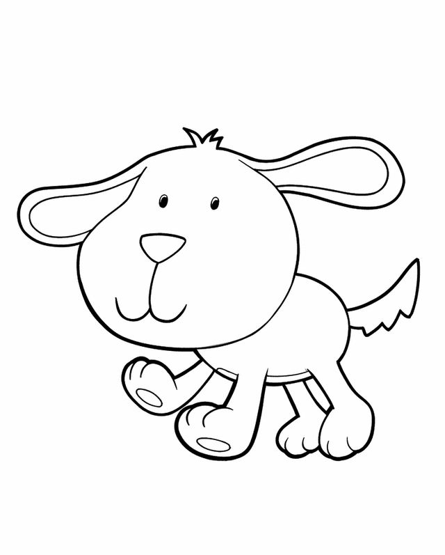 cartoon dog coloring pages - photo#31