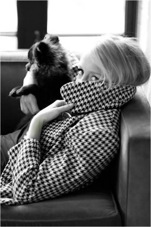 Fabulous houndstooth coat, via @Christine Ballisty Ballisty Ballisty Smythe Martinez. Young and