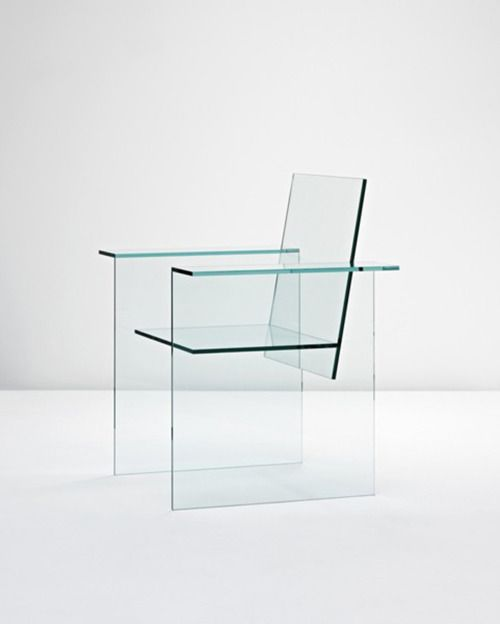 Shiro Kuramata, Glass Chair, 1976