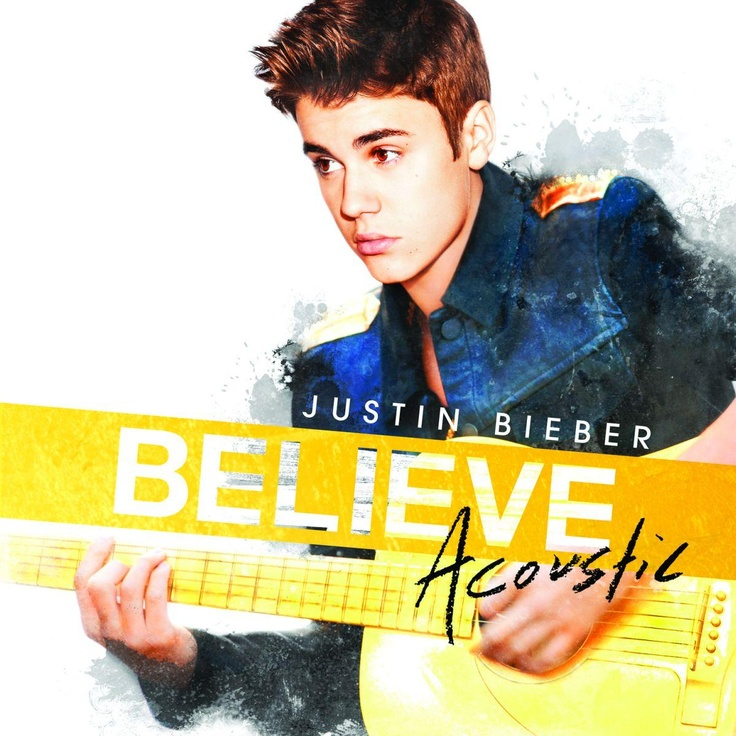 album cover art: justin bieber - believe acoustic [01/2013]