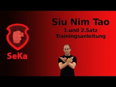 Siu Nim Tao: 1. und 2. Satz (Videoanleitung)