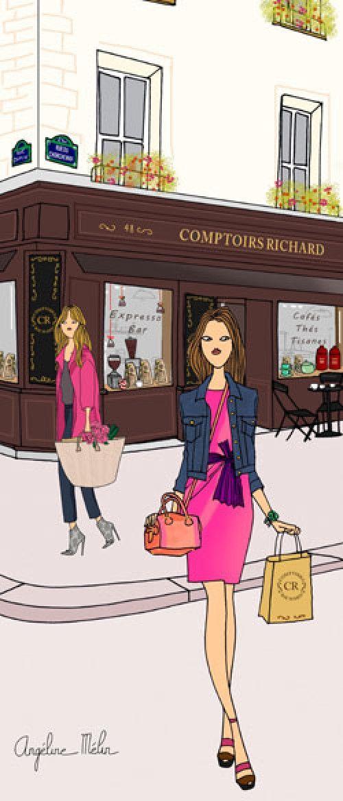 Le coffee –shop des titi-parisiennes : Comptoirs Richard