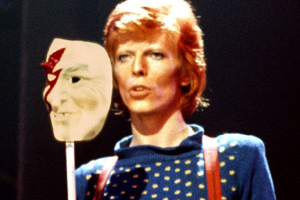 David Bowie rises from the silence