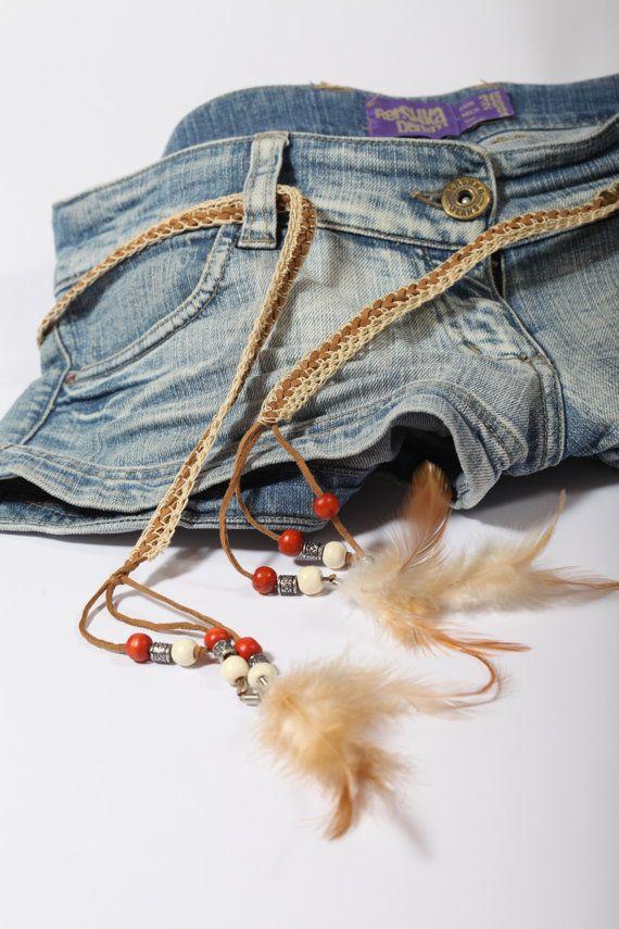 Summer Handmade Accessory , Festival Belt , Summer Hair Accessory ,  Scarf Necklace Wrap Jewelry , Bohemian Accessory