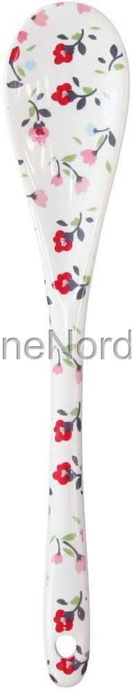 Happy Spoon White Romantic Flowers, from Krasilnikoff.