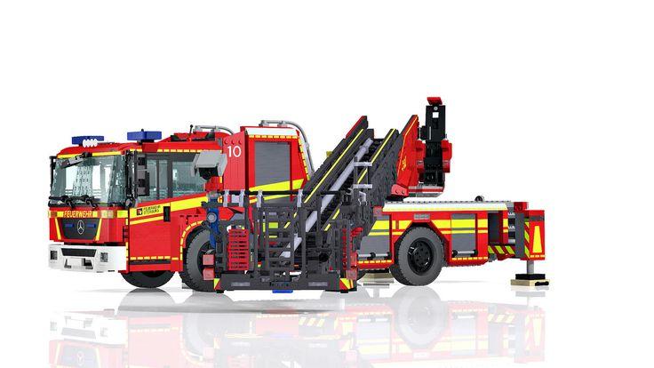 LEGO Econic/ Metz L32 turntable ladder - DLA (K) 23/12 | von Niklas-B