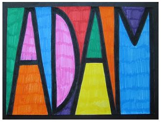 substitute teacher plan pop art names