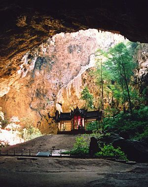 Khao Sam Roi Yot National Park - Buddhist Temple in a cave