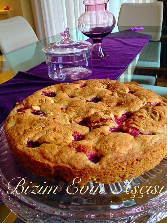 bizim evin aşçısı: Badem Unlu Kek