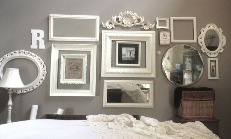 wall of vintage frames - Google Search
