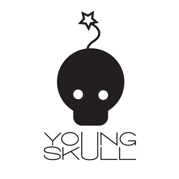 young skull Logo
