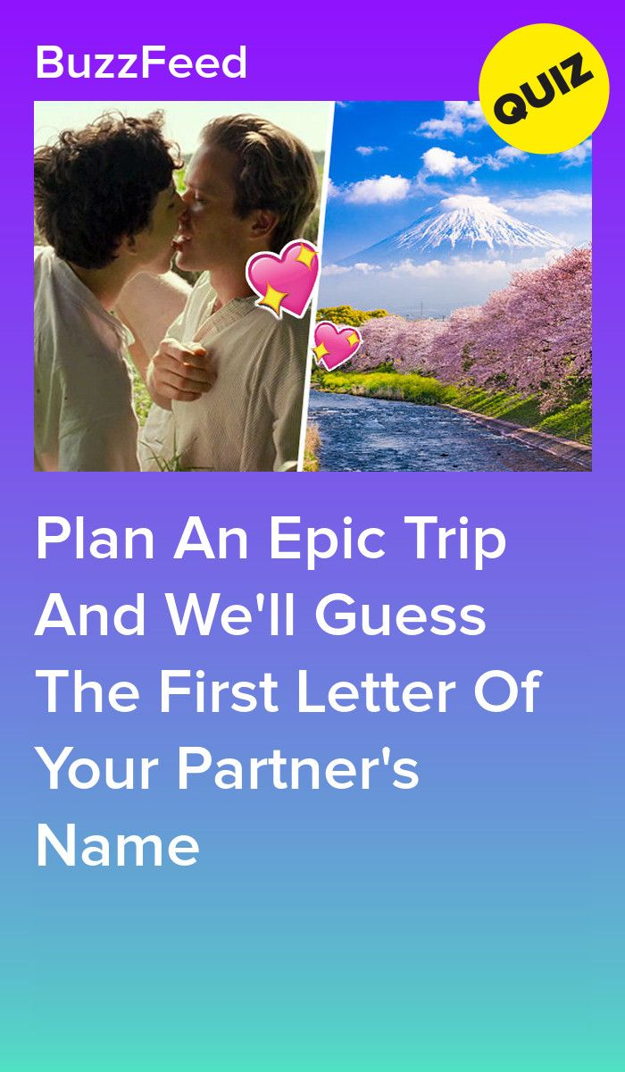 Plan For A Trip And We Ll Guess The First Letter Of Your