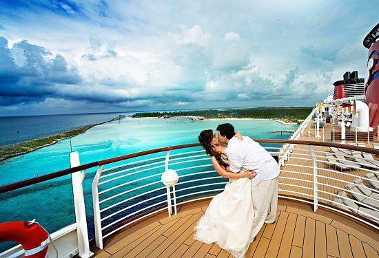 Свадьба на круизном лайнере.
