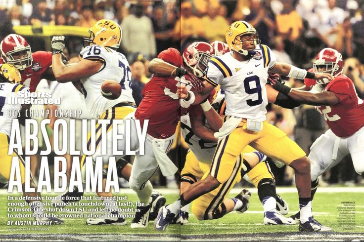 ABSOLUTELY ALABAMA - Jan. 16, 2012 Sports Illustrated - CFB National Championship Issue #Alabama #RollTide #Bama #BuiltByBama #RTR #CrimsonTide #RammerJammer