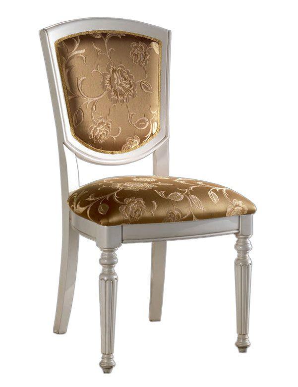 Sedia Masterstyl - ArteFerretto Sedia di grande robustezza e grande comodità. Il sedile ad appoggio, dalla generosa imbottitura, assicura una comodità di seduta decisamente confortevole