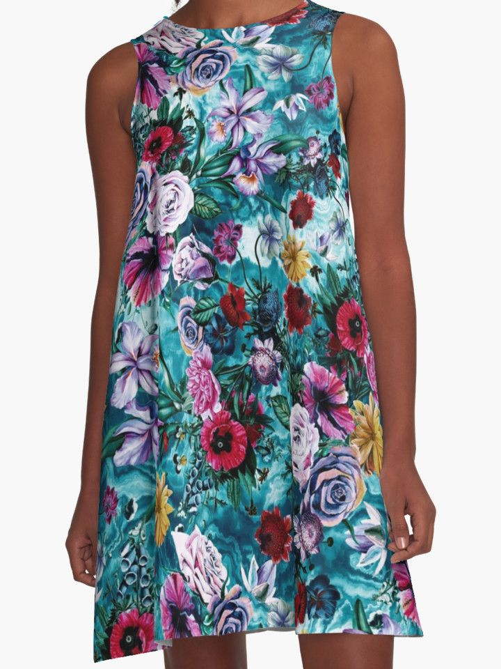 RPE FLORAL OCEAN by RIZA PEKER #womenswear #fashion #floral #dresses #style #trend #summer