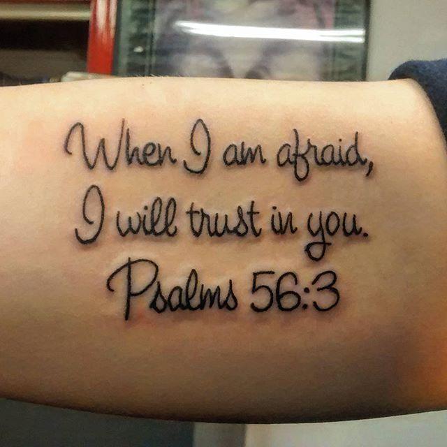 psalms tattoo