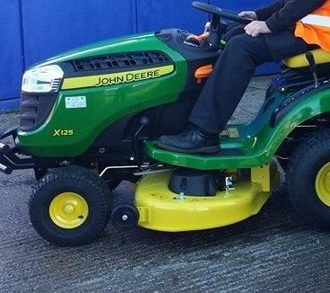 John Deere sit on grass mower | It's Been NICKED ™  This was stolen from Mill Hill football club in Blackburn.  There were no keys with it.  Do you know where it is?  Have you been offered a ride on mower like this without keys?